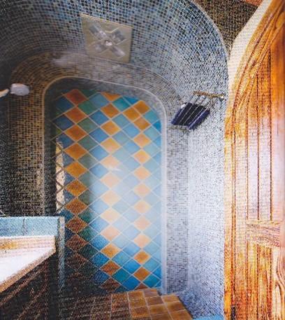 马赛克与瓷砖的多种拼接组合