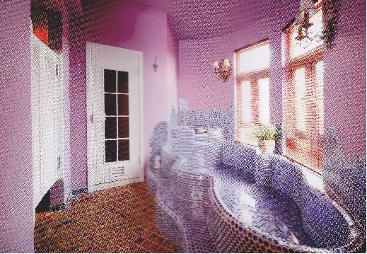 不规则形浴缸
